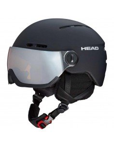 Casco Head Knight Black
