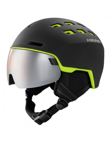 Head Radar Black/Lime