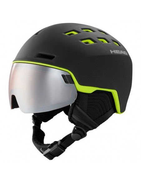 Head Radar Black/Lime