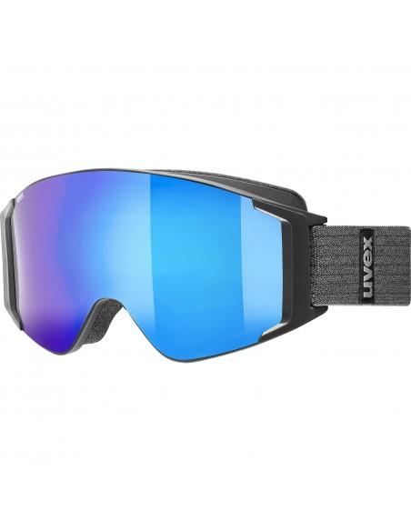 Uvex g.gl 3000 TO Black Mat  - Mirror Blue S1/3
