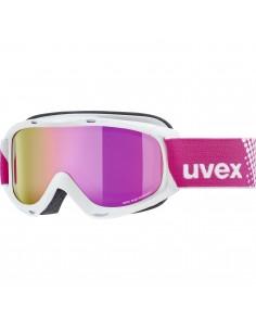 Uvex Slider FM White - Mirror Pink S3