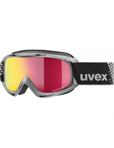 Uvex Slider FM Anthracite - Mirror Red S3