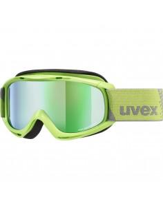 Uvex Slider FM Lightgreen - Mirror Green S3