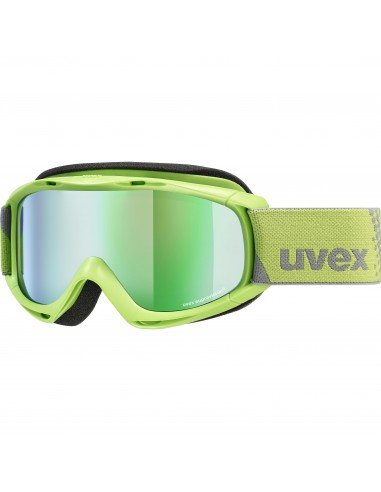 Uvex Slider FM Lightgreen - Mirror Green S3