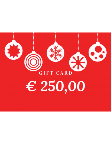 Gift Card 250,00€