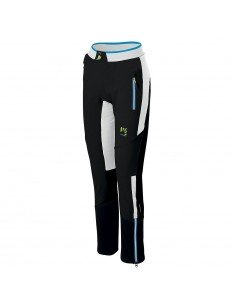 Pantalone Karpos Alagna Plus Evo W Black/White/Dresden Blue