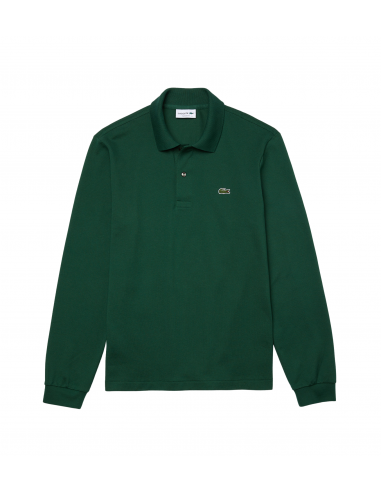 Long-sleeve Lacoste Classic Fit Polo Shirt Vert