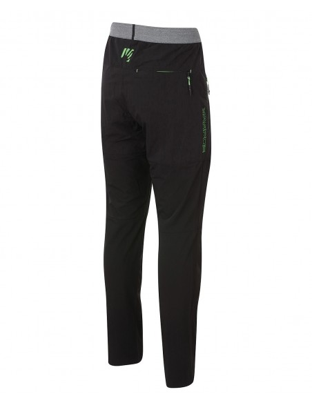 Pantalone Karpos Tre Cime Black/Green Fluo