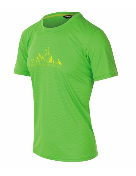 Karpos Loma Print Jersey Apple Green
