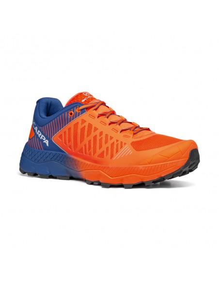 Scarpa Spin Ultra Orange Fluo/Galaxy Blue