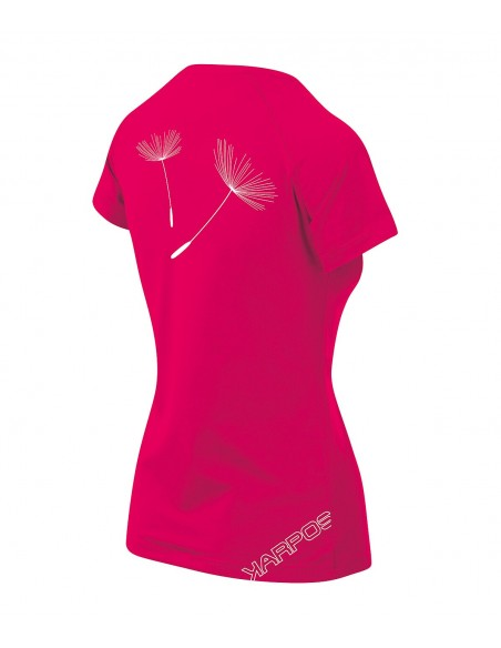 T-Shirt Karpos Genzianella W Raspberry Print
