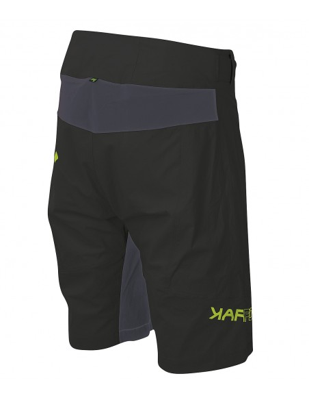 Karpos Val Viola Short Black/Dark Grey