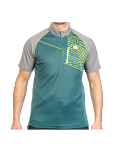 T-Shirt Alpenplus Outdoor 1/2 Zip Mann