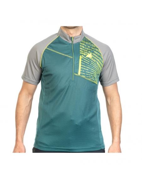 T-Shirt Alpenplus Outdoor 1/2 Zip Mann