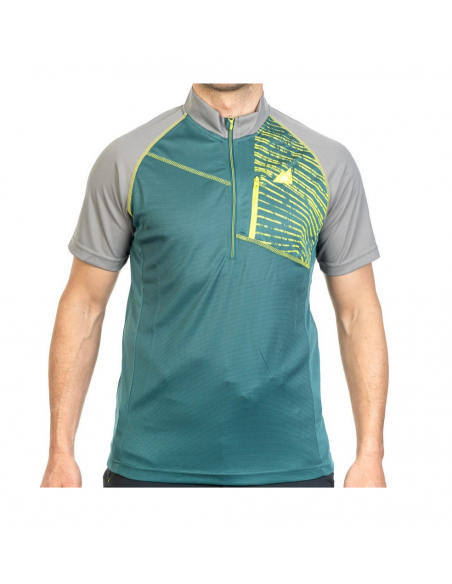 T-Shirt Alpenplus Outdoor 1/2 Zip Uomo