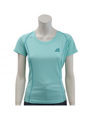 T-Shirt Alpenplus Nordic Walking Frau