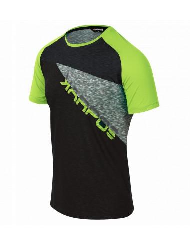 Maglia Karpos Croda Rossa Jersey Black/Green Fluo