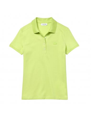 Damen Lacoste Poloshirt aus Stretch-Baumwoll-Piqué