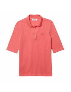 Women's Lacoste Slim Fit Polo Shirt Pink