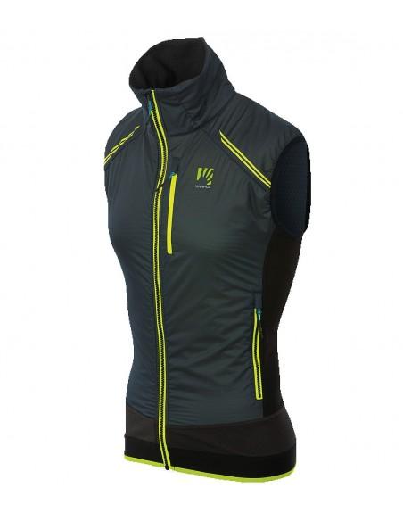 Gilet Karpos Alagna Plus Evo Vest Black/Asphalt/Yellow Fluo