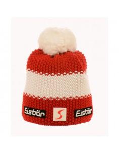 Eisbar Star Pompon MU SP Rosso-Bianco-Rosso