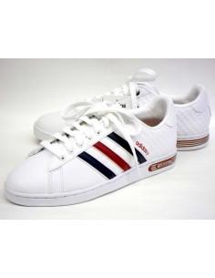 Adidas Derby ii Blanc/Marine/Rouge